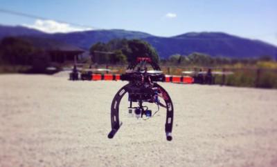 Alanno (Pescara): drone