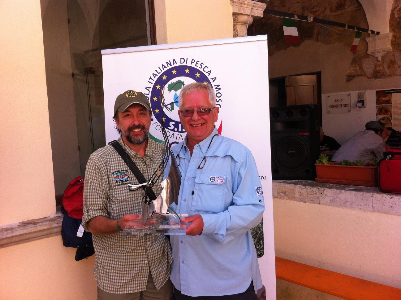 Alberto Calzolari e Dale Rushby