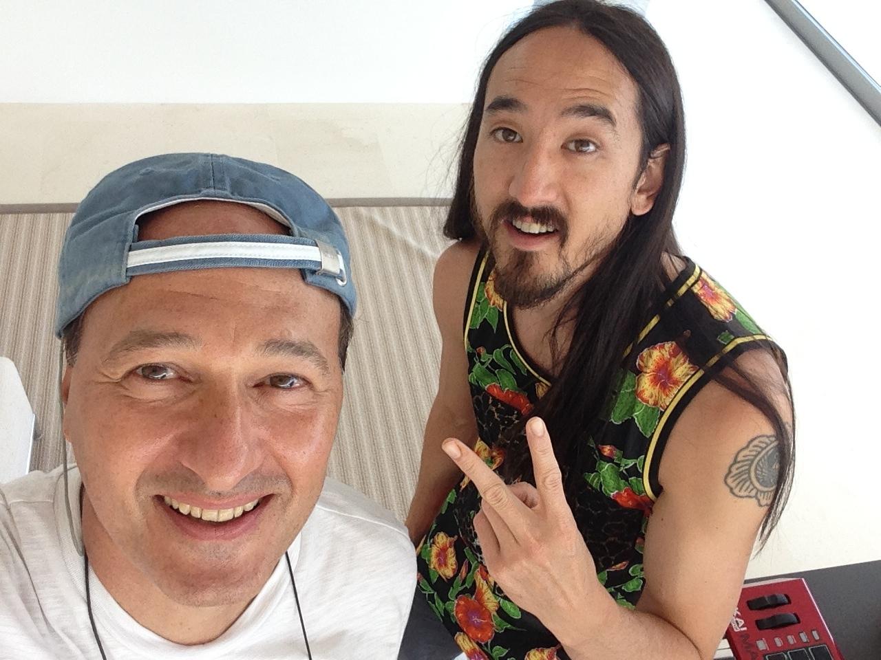 Alberto D'Onofrio e Steve aokijpg