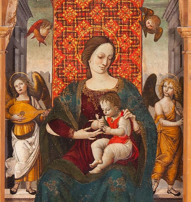 Cola dell'Amatrice, trittico di Piagge, Ascoli Piceno, Pinacoteca Civica