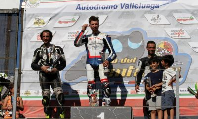 D'Annunzio podio Vallelunga