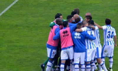 Delfino Pescara calcio esultanza