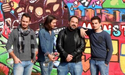 Electric Bang - Da sx Simone D'alessandro, batteria, Jorge Ro, tromba, Maurizio Paludi, chitarra, Francesco D'Alessandro, batteria