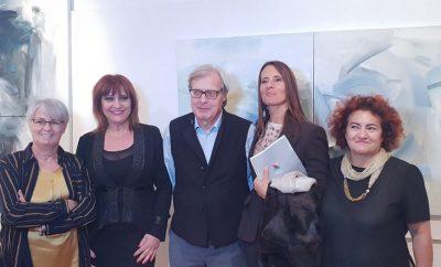 Foto Sgarbi con il Gruppo 4