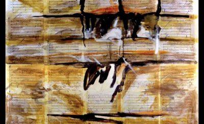 """Guadagnuolo-""""Segno-Suono-Luce""""-con-l'intero-spartito-autografo-'Contre'-di-Mauro-Bortolotti"""