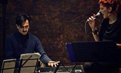 Il pianista Nico Tangherlini e la cantante Marta Giulioni
