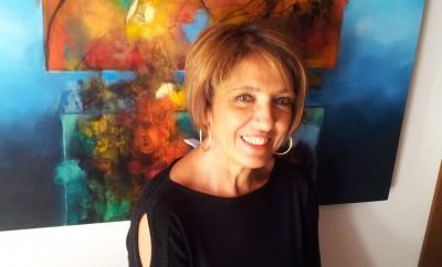L'artista Flavia Mannucci