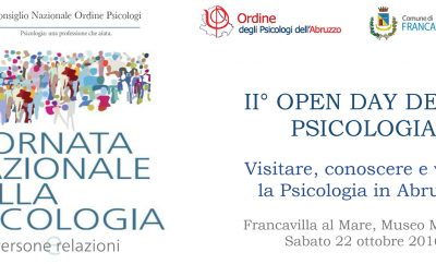Locandina - II open day della Psicologia