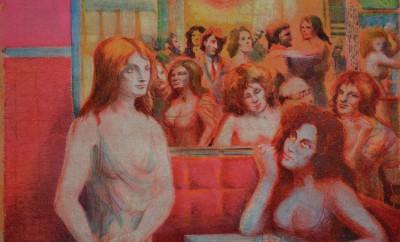 Maison Tellier Le tre rosse 1980