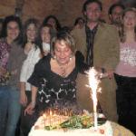Francesca Di Pietro compie 40 anni e festeggia suonando per i suoi amici