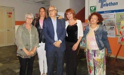 il gruppo 4 con Vittorio Sgarbi