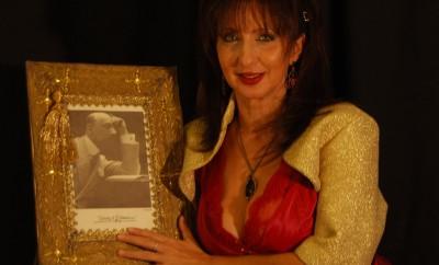 l'attrice scrittrice e pianista daniela musini